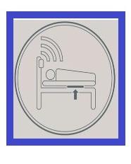 Foto icono sensor cama