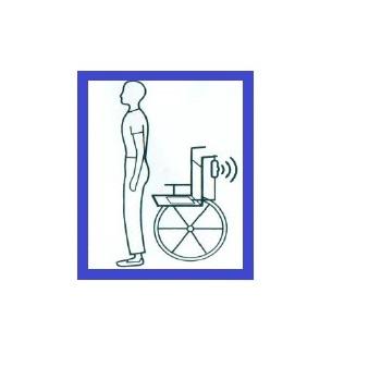 Foto icono sensor silla